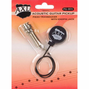 AXL PG-801 Acoustic Guitar Piezo Transducer Pickup with Endpin Jack (PG801)
