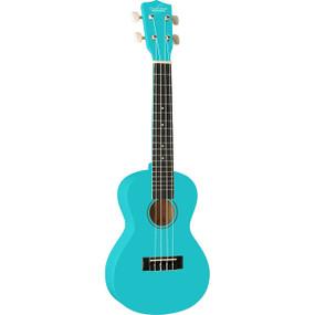 Oscar Schmidt OU1CBL Concert Size Ukulele, Light Blue