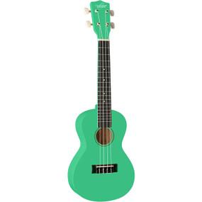 Oscar Schmidt OU1CSFG Concert Size Ukulele, Surf Green