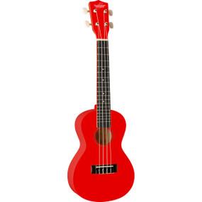 Oscar Schmidt OU1CRD Concert Size Ukulele, Red