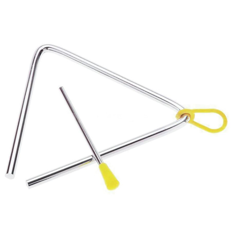 "Grover GV-3505 Hand Percussion 5"" Metal Triangle w/ Striker and Holder"