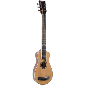 Johnson JG-TR3 Trailblazer Acoustic Travel Guitar w/ Gig Bag, Natural