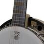 Deering Goodtime Six-R Steel 6-String Banjo with Resonator, Banjitar