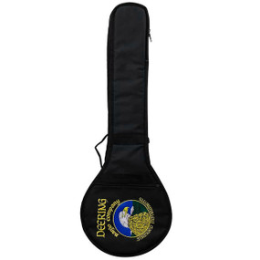 Deering Vintage Eagle Padded Gig Bag for Open Back Banjo, Black (GDT-BAG-OVE)