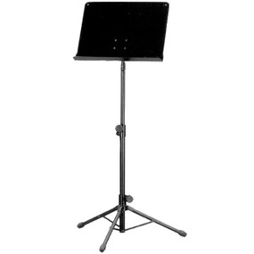 Guardian SM-050 Heavy-Duty Deluxe Music Stand, Black