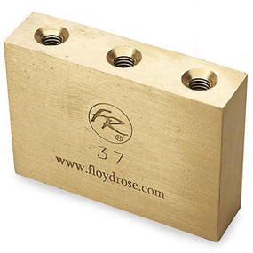 Floyd Rose 37mm Original Fat Brass Tremolo Sustain Block, FROFTB37