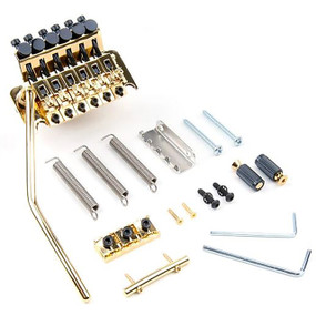 Floyd Rose FRT300R3 Original Tremolo Bridge System w/ R3 Nut, Gold
