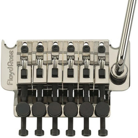 Floyd Rose FRT500R3 Original Tremolo Bridge System w/ R3 Nut, Black Nickel