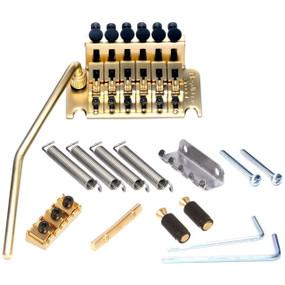 Floyd Rose FRTS3000SR2 Special Tremolo System w/ R2 Nut, Satin Gold