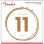 Fender 60CL Phosphor Bronze Acoustic Guitar Strings - Custom Light, 073-0060-405