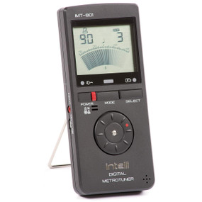Intelli IMT-801 All-In-One Instrument Tuner, Metronome, Tone Generator, and Thermo-Hygrometer (IMT801)