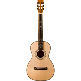 Oscar Schmidt O315 Parlor Size Spruce Top Acoustic Guitar, Natural