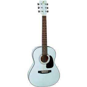 J Reynolds JR14PB 36-Inch Acoustic Guitar, 3/4 Size, Powder Blue