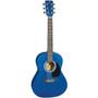 "J Reynolds JR14 Small Body Dreadnought 36"" Acoustic Guitar, Transparent Blue"