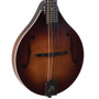 The Loar LM-110-BRB Honey Creek Hand-Carved A-Style Acoustic Mandolin, Brownburst