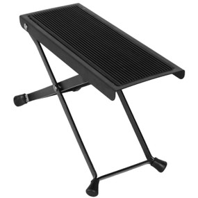 Guardian SG-005 Folding Guitar Foot Stool, Black