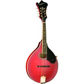 Washburn M1SDLTR Americana Series A-Style Mandolin, Transparent Red