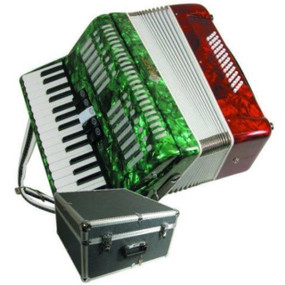 Mirage T5005TC Mexican Flag Piano Key Accordion