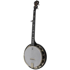 Deering Artisan Goodtime Midnight Special 5-String Resonator Banjo, Satin Finish
