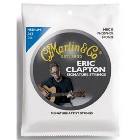 Martin MEC13 Eric Clapton's Choice Signature Acoustic Guitar Strings, Medium