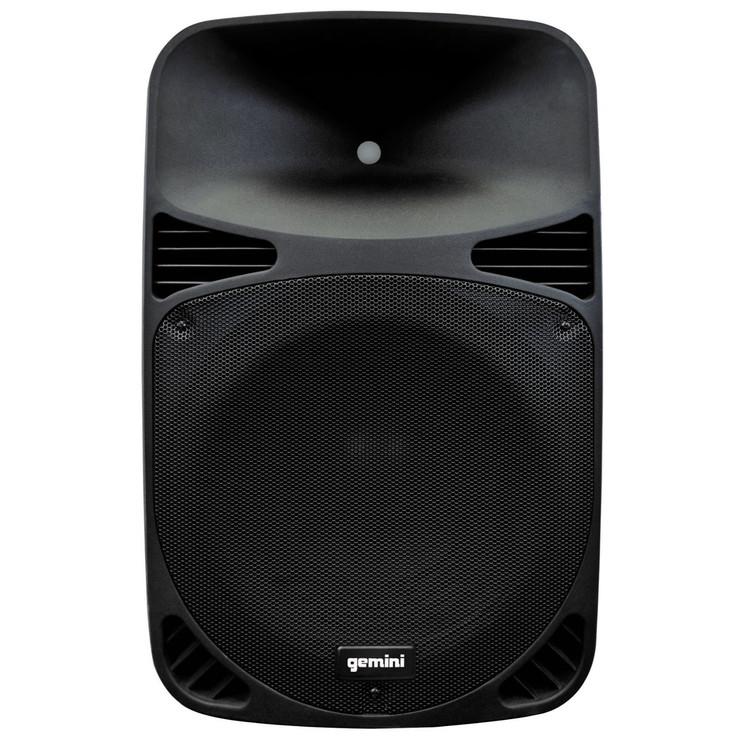 "Gemini HPS-12BLU 12"" Active Loudspeaker with USB/SD/Bluetooth MP3 Player"