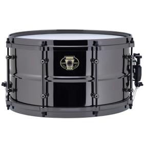 "Ludwig LW0713 Black Magic Snare Drum, Black Chrome Hardware & Tube Lugs, 7""x13"""