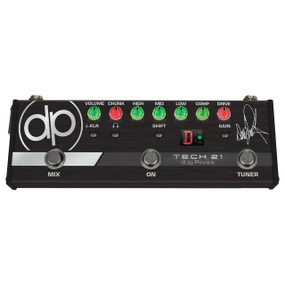 Tech 21 dUg Pinnick DP-3X Signature Bass Pre-Amp & Distortion Pedal