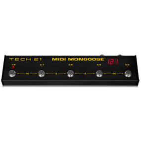 Tech 21 MMG1 MIDI Mongoose MIDI Foot Controller Pedal