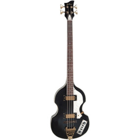 Jay Turser JTB-2B-BK 4-String Electric Bass Guitar, Black
