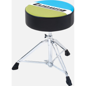 Ludwig LAC49TH Atlas Classic Round Drum Throne, Blue/Olive