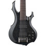 ESP LTD F-415FM Flamed Maple 5-String Electric Bass Guitar, See Thru Black