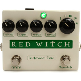 Red Witch Pentavocal Tremolo Guitar Effects Pedal