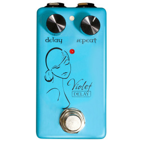 Red Witch Seven Sisters Series Violet Delay Effects Pedal