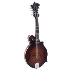 The Loar LM-310F Honey Creek F-Style Acoustic Mandolin, Brownburst
