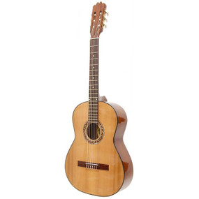 Paracho Elite Llano 6-String Classical Acoustic Guitar with Solid Cedar Top, Natural (LLANO)