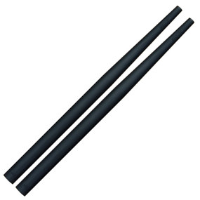 Ahead Medium Drumstick Taper Covers, Black