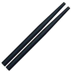 Ahead Short Drumstick Taper Covers, Black