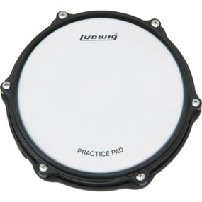 """New Ludwig L379 Tunable 8"""" Practice Pad"""