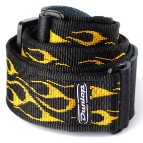 Dunlop D38-11OY Classic Flambe Orange Yellow Guitar Strap