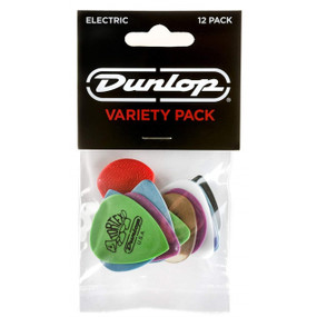 Dunlop PVP113 Electric Player's Guitar Pick Variety Pack, 12-Pack