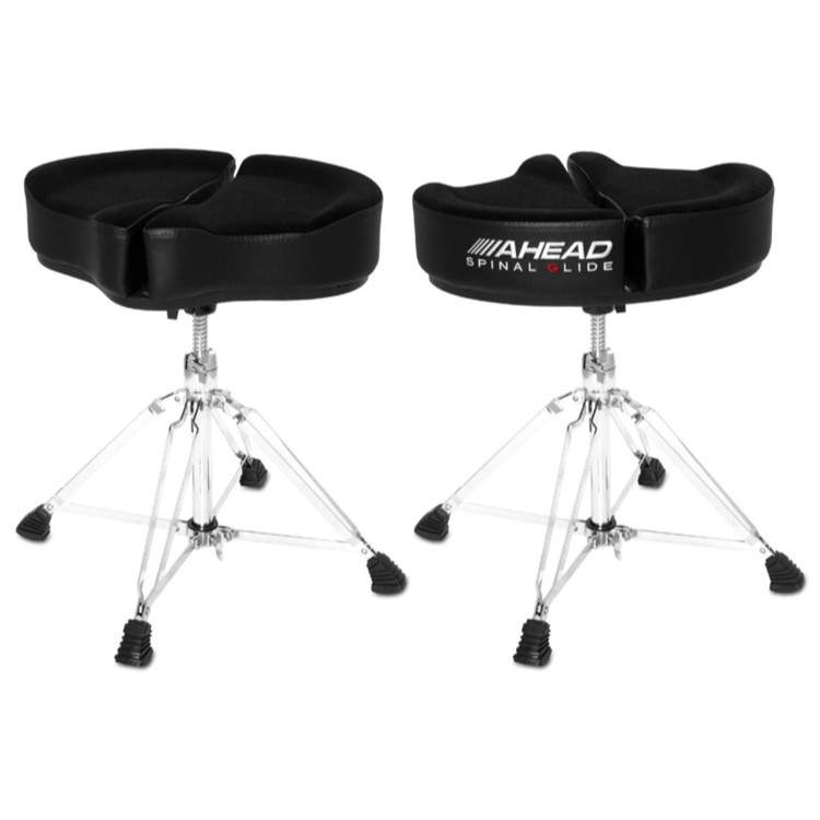 Ahead Spinal-G Saddle Drum Throne, Black