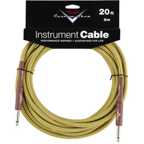 Fender Custom Shop 20' Tweed Instrument Cable (099-0820-050)