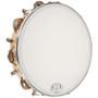 "GP Percussion TP108 Professional 10"" Inch Tuneable Wood Rim Tambourine"