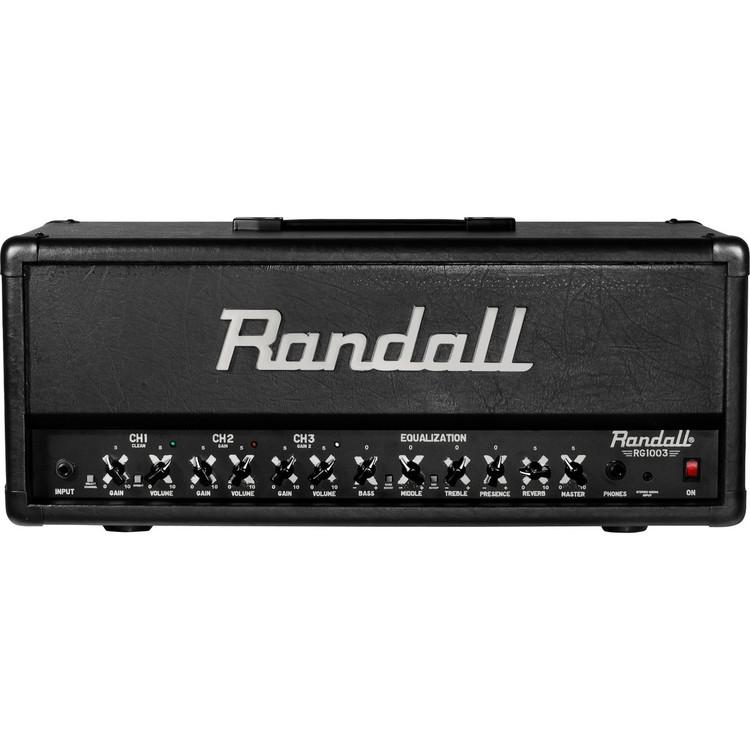 Randall RG1003H RG Series 100 Watt Solid State Guitar Amplifier Head