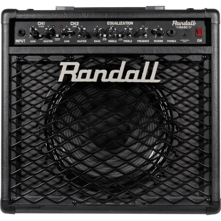Randall RG80 RG Series 80 Watt 1x12 Guitar Combo Amplifier