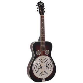 Recording King RR-36S-VS Maxwell Series Square Neck Resonator, Vintage Sunburst