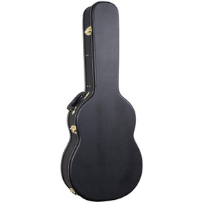 Guardian CG-016-C Flat Top Hardshell Classical Guitar Case, Black