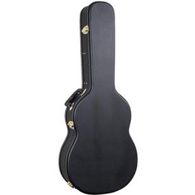 Guardian CG-016-C Flat Top Hardshell Classical Acoustic Guitar Case, Black