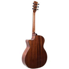 Recording King RGA-G6-CFE5 G6 Series Grand Auditorium Cutaway Acoustic Electric Guitar, Natural