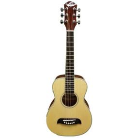 Oscar Schmidt OGQS 1/4 Size Steel String Acoustic Guitar, Natural